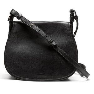 Banana Republic Saddle Crossbody Leather Purse Bag